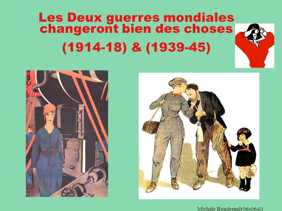 Michèle Boudreault 06-06-01 Au cours du XXe siècle, des féministes se révoltent et réclament le droit de voter et dêtre élue La célèbre sufragette Emmeline Pankhurst
