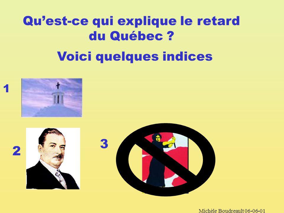 Michèle Boudreault 06-06-01 Au Québec les femmes nobtiendront pas le droit de vote avant 1940.
