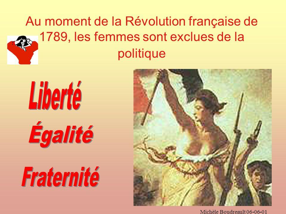 Le féminisme est un mouvement politique Qui revendique légalité entre les sexes