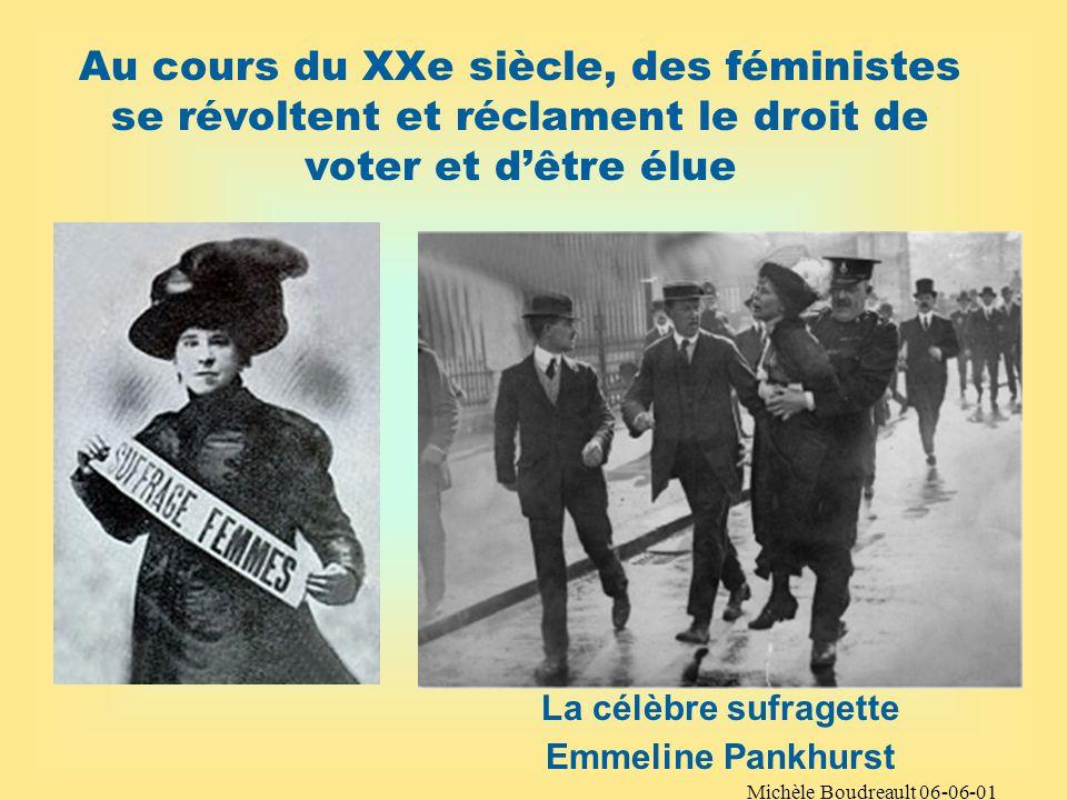 Michèle Boudreault 06-06-01 Dautres groupes sont exclus de la citoyenneté Qui