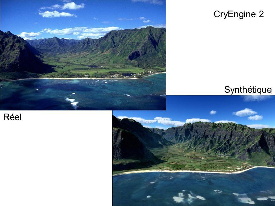 Réel Synthétique CryEngine 2