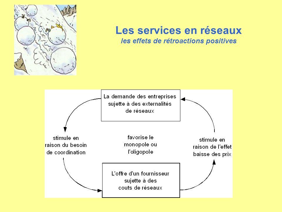 Les services en réseaux les effets de rétroactions positives