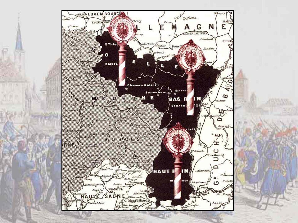 La capitulation de Strasbourg, le 27 septembre 1870.