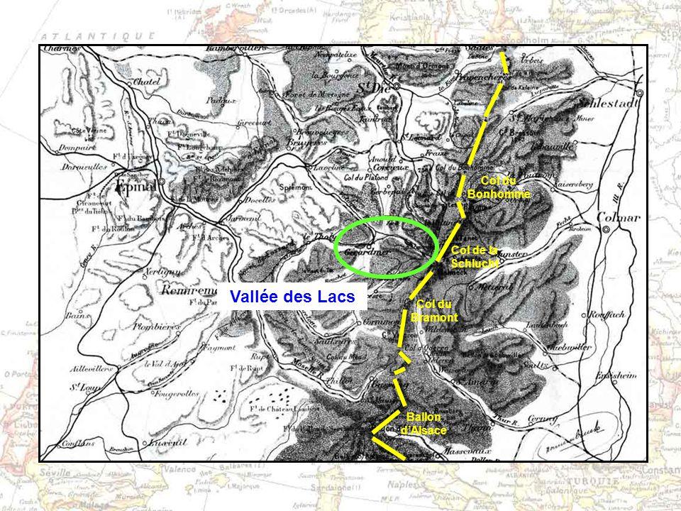 Vallée des Lacs Col du Bonhomme Col de la Schlucht Col du Bramont Ballon dAlsace