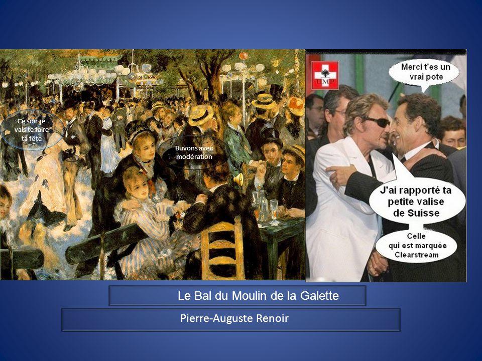 tt Pierre-Auguste Renoir Buvons avec modération Ce soir je vais te faire ta fête Le Bal du Moulin de la Galette