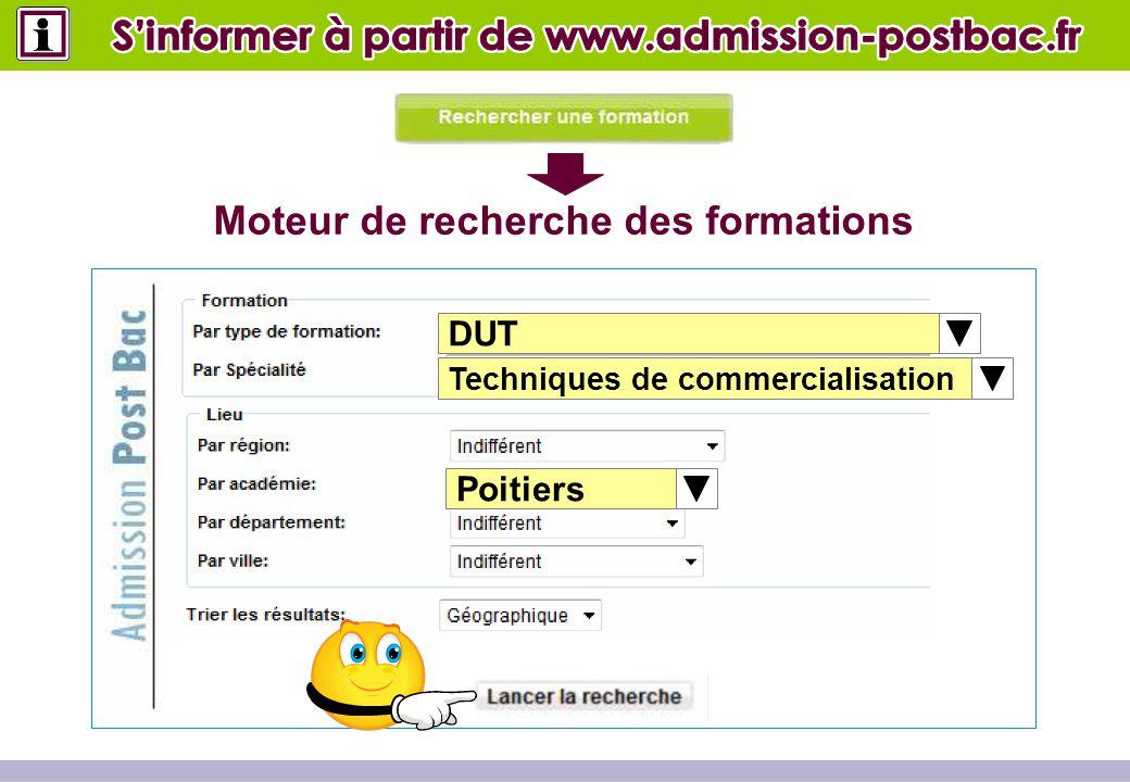 DUT Techniques de commercialisation Poitiers Moteur de recherche des formations