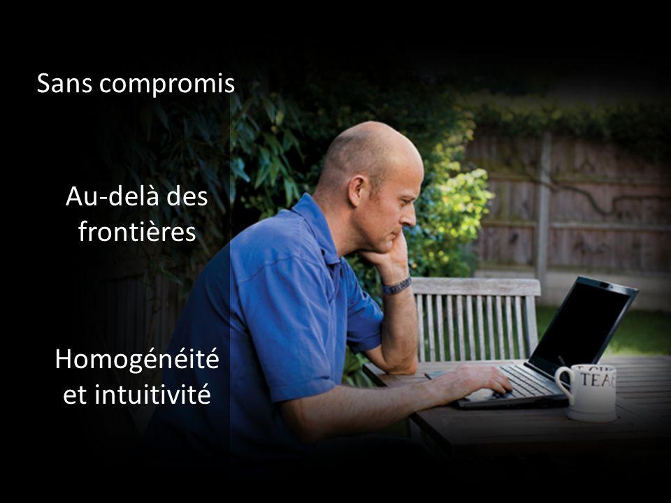 SharePoint 2010 Excel 2010 PowerPoint 2010 SharePoint Workspace 2010 (anciennement Groove) PowerPoint 2010 Exchange 2010 Outlook 2010 Cocréation Pour emporter Diffusion de diaporamas Boîte de réception unifiée Favoriser la collaboration