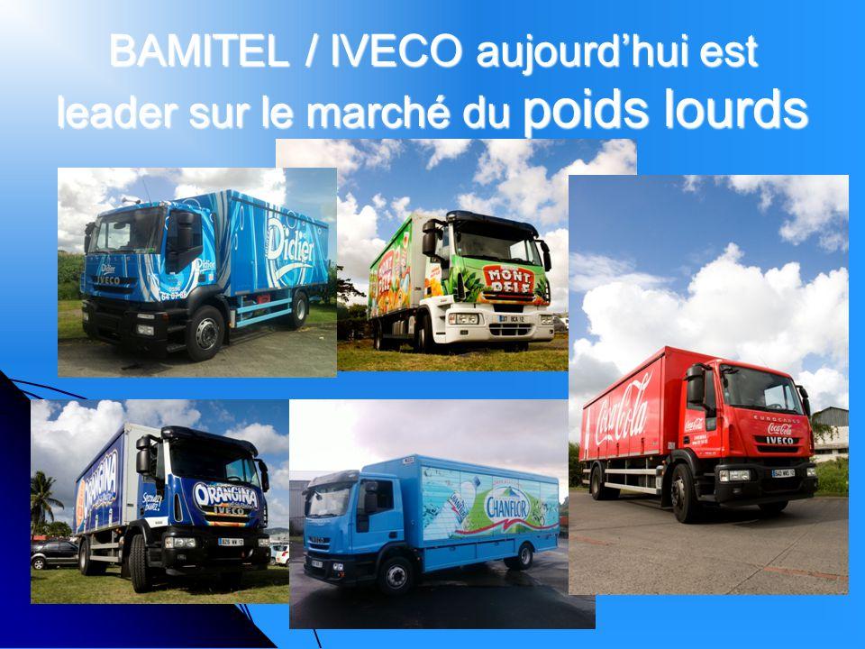 BAMITEL / IVECO aujourdhui est leader sur le marché du poids lourds