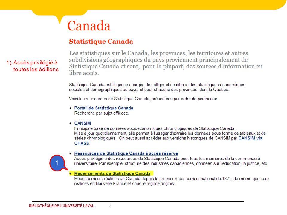 Bibliothèque de l Université Laval5 1)Profils des régions administratives et MRC