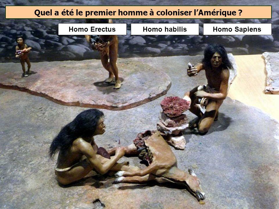 Quelle était la particularité de lHomme de Florès qui aurait vécu en Indonésie de – 95 000 à – 12 000 ans ? LHomme de Florès mesurait à peine 1 mètre