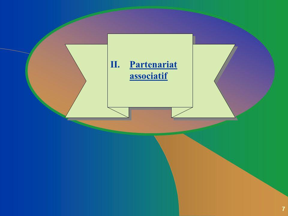 7 II.Partenariat associatif