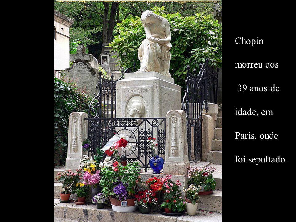 A música se refere a FRÉDÉRIC (Frédéric Chopin)... à falta de liberdade em Varsóvia, à tristeza na cidade, às casas vazias, aos tempos cinzentos, à fa