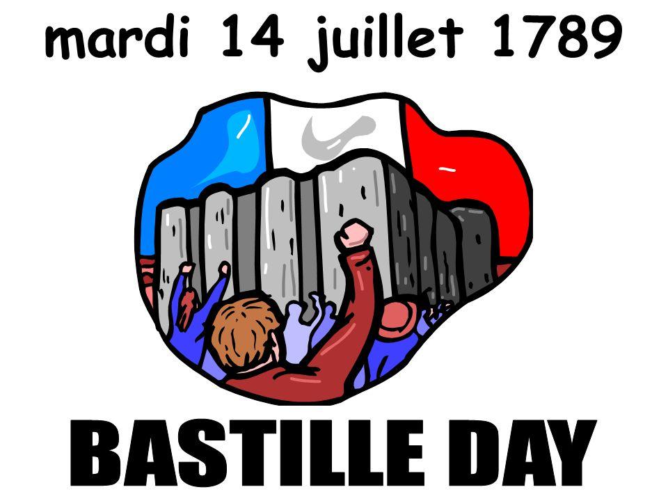 mardi 14 juillet 1789