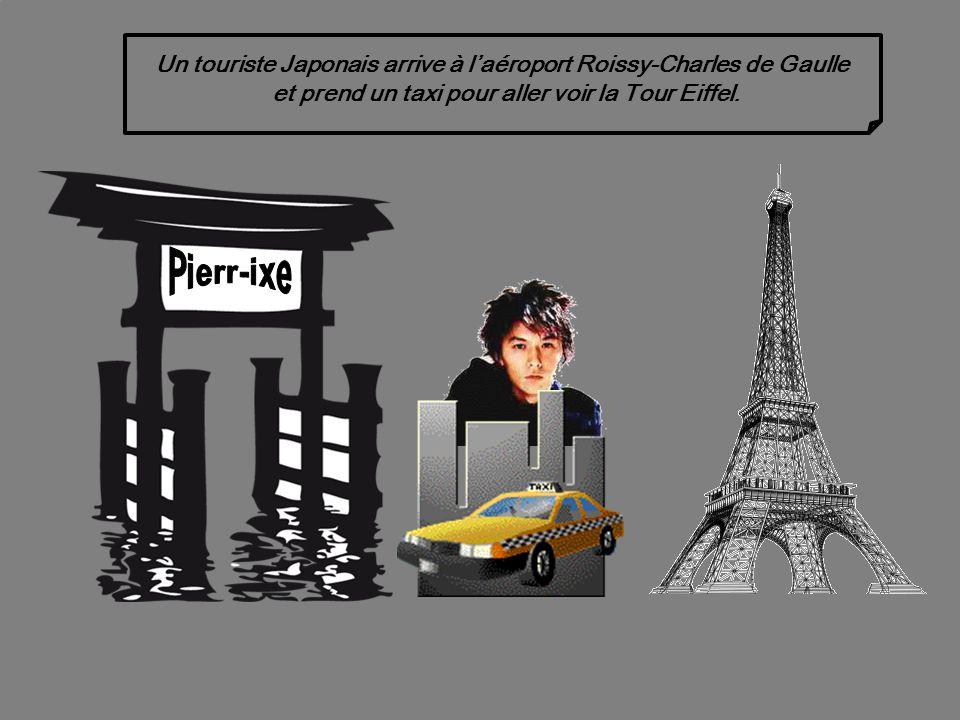 Un touriste Japonnais à Paris