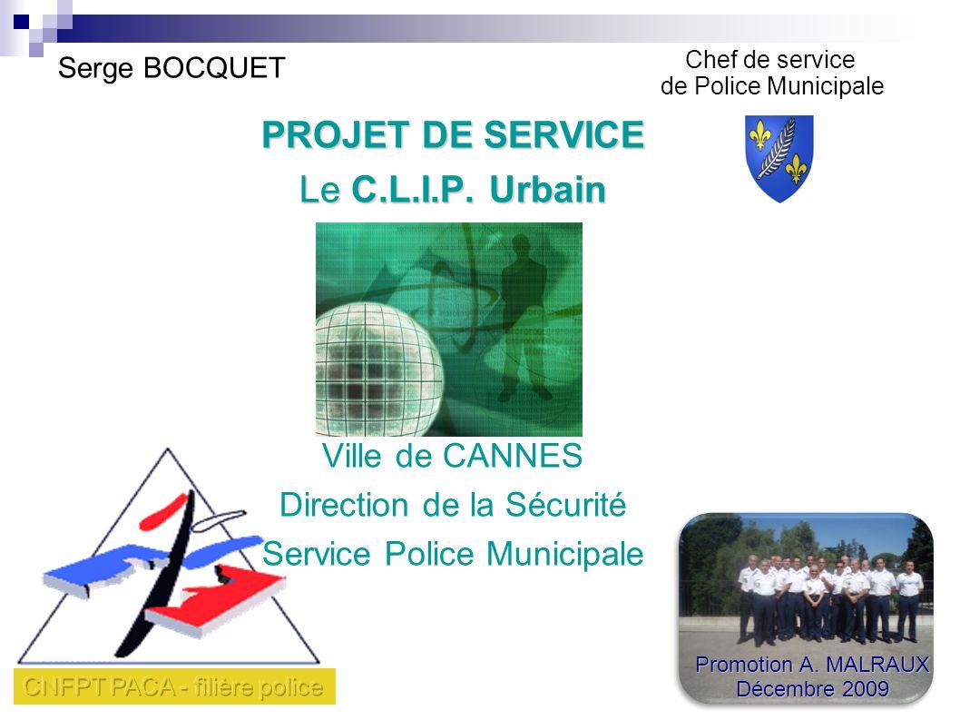 Serge BOCQUET PROJET DE SERVICE Le C.L.I.P.