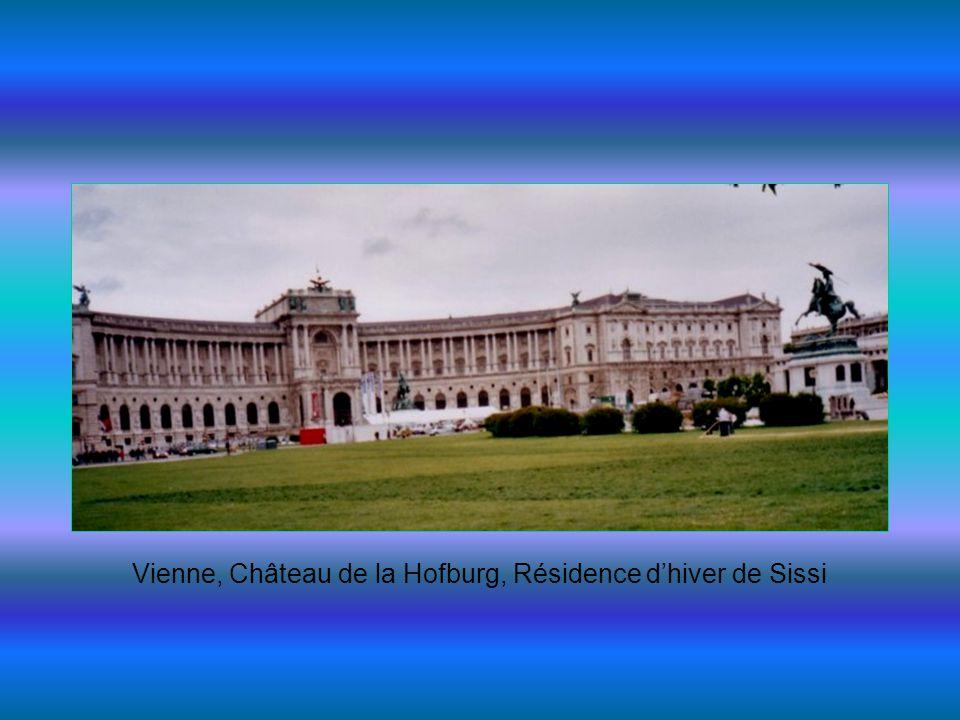 Vienne, Château de la Hofburg, Résidence dhiver de Sissi