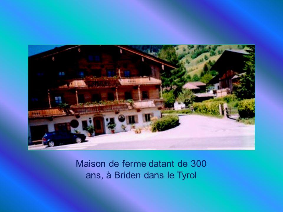 Maison de ferme datant de 300 ans, à Briden dans le Tyrol