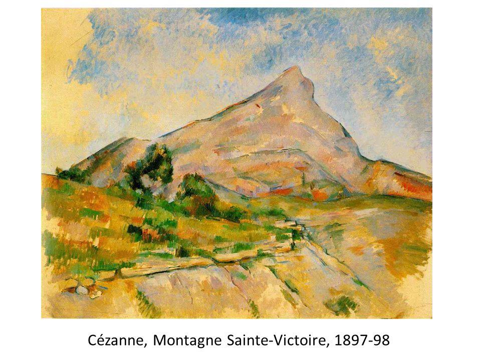 Cézanne, Montagne Sainte-Victoire, 1897-98