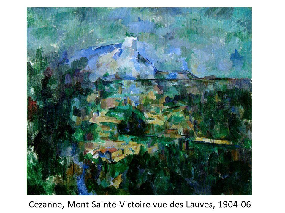 Cézanne, Mont Sainte-Victoire vue des Lauves, 1904-06
