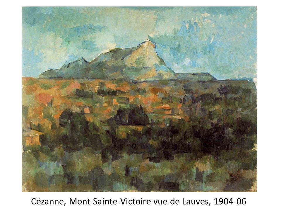 Cézanne, Mont Sainte-Victoire vue de Lauves, 1904-06