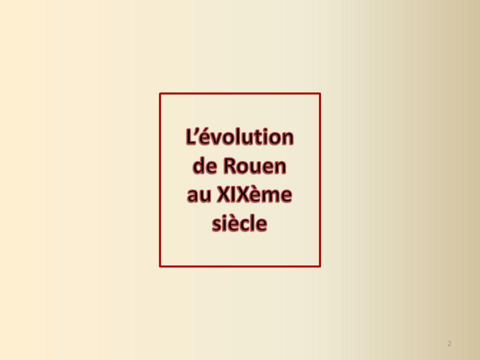 3 1.Les auteurs de ces photographies se sont-ils placés au même endroit pour réaliser ces deux vues de Rouen .