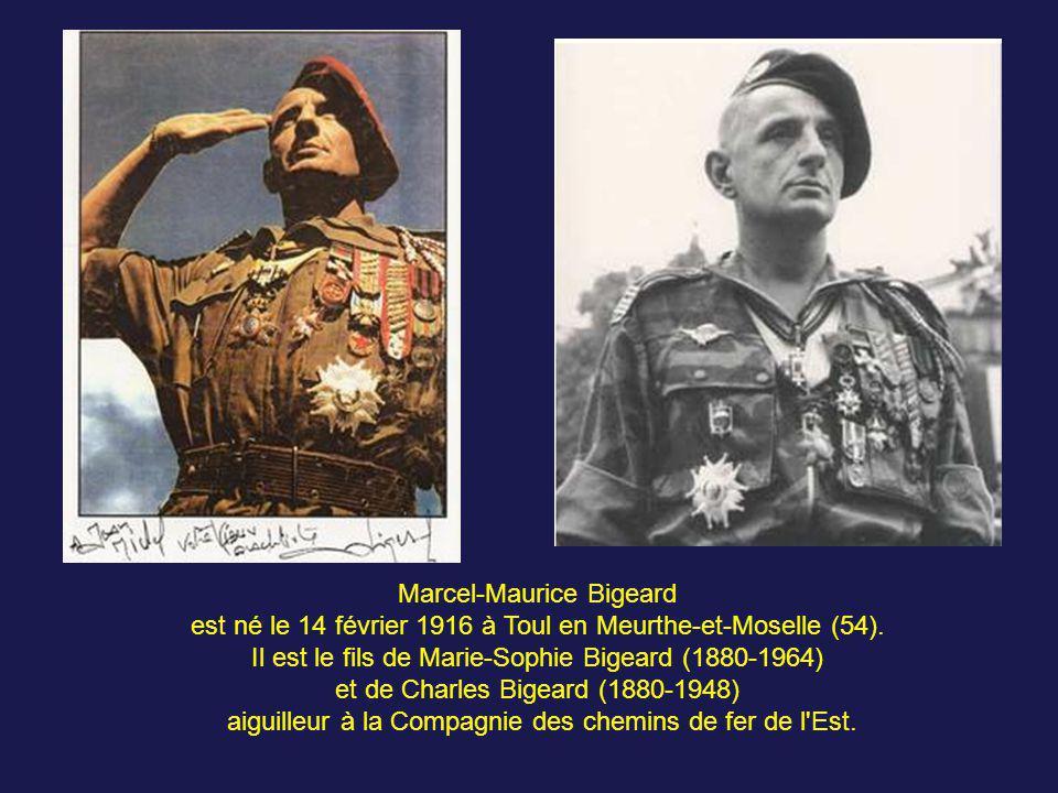 Au printemps 1951, Bigeard est affecté à Vannes à la ½ brigade coloniale du colonel Gilles et se voit confier le bataillon de passage. En septembre 19