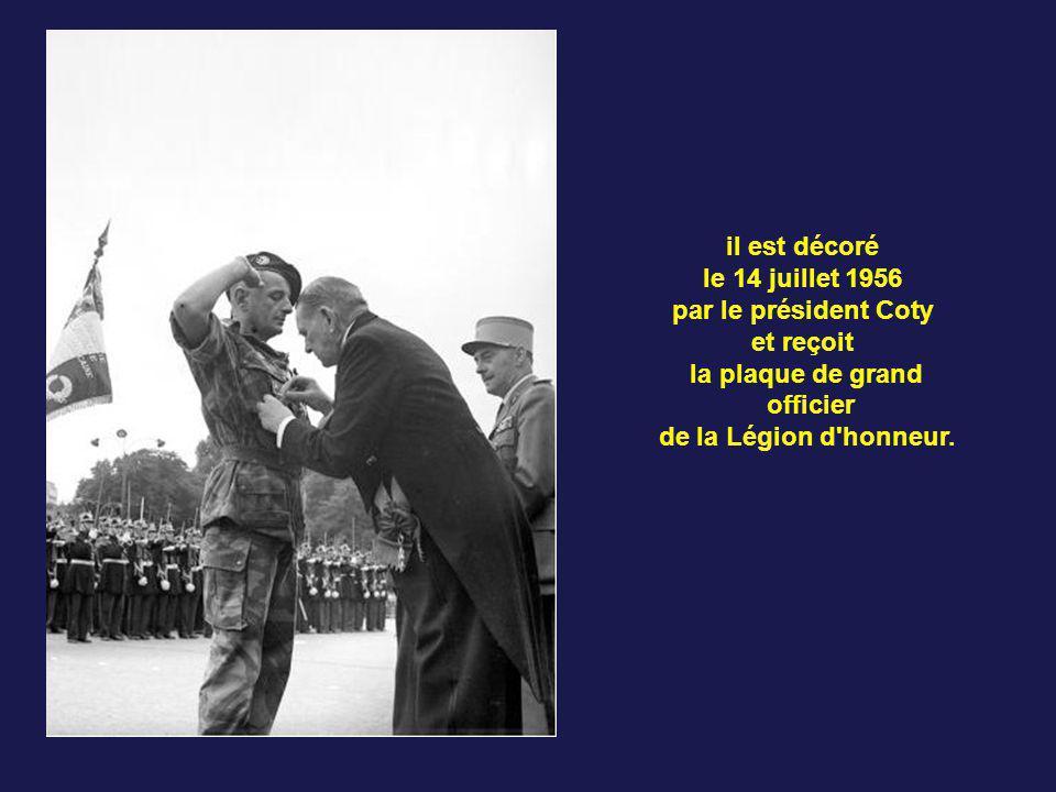 Le 25 octobre 1955, Bigeard prend le commandement du 3e BPC dans la région de Constantine en Algérie. Le 21 février 1956, le bataillon, devenu entre t