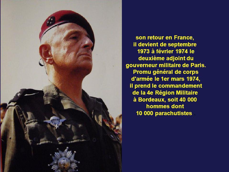 Après une entrevue avec le général de Gaulle, il est nommé au poste de commandant supérieur des forces terrestres au Sénégal et rejoint Dakar le 7 fév