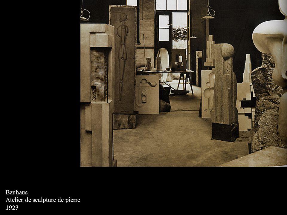 BASCHANT, Rudolf Cartes postales : exposition du Bauhaus 1923 Lithographie (série de 20 cartes)