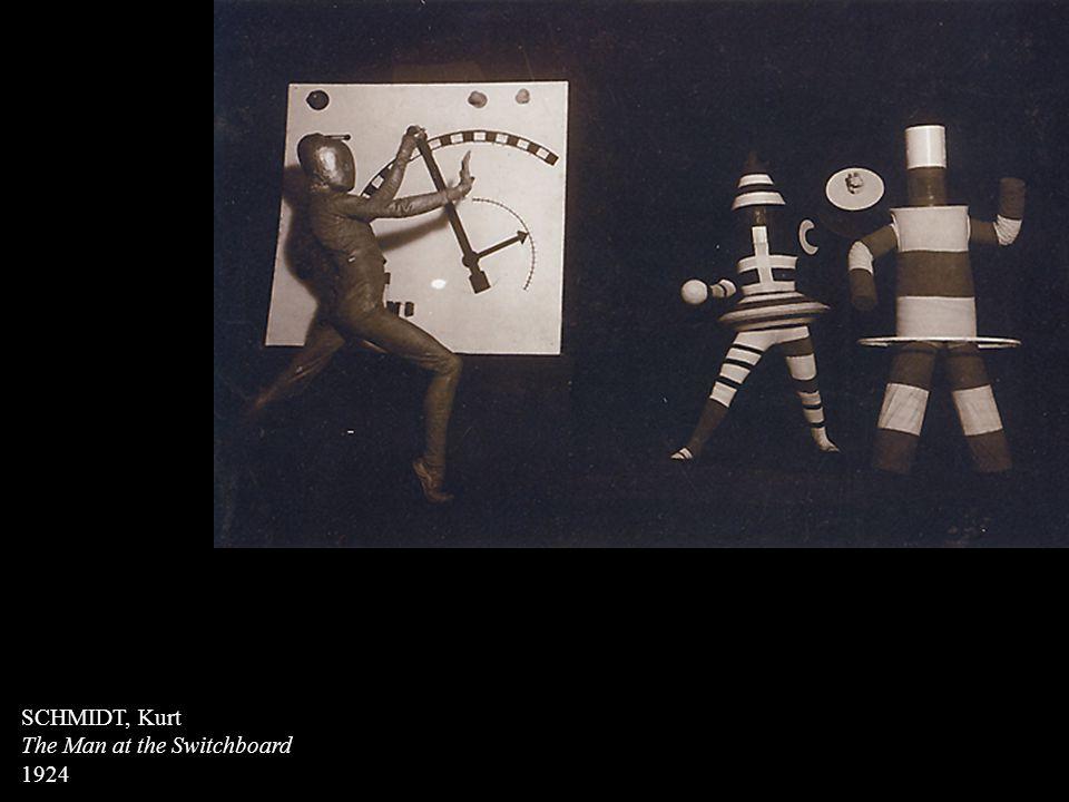 SCHMIDT, Kurt The Man at the Switchboard 1924