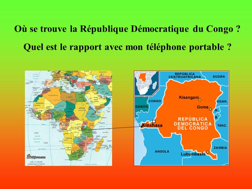 Afrique, Congo, Guerre, COLTAN… et… et… TON PORTABLE