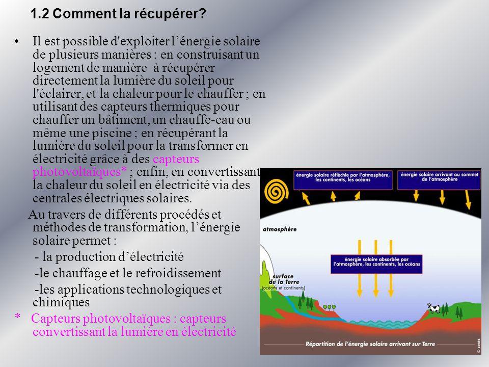VI.Conclusion Nous consommons de l énergie à chaque instant pour nous éclairer, nous chauffer, notre civilisation moderne, notre industrialisation est grande consommatrice d énergie.