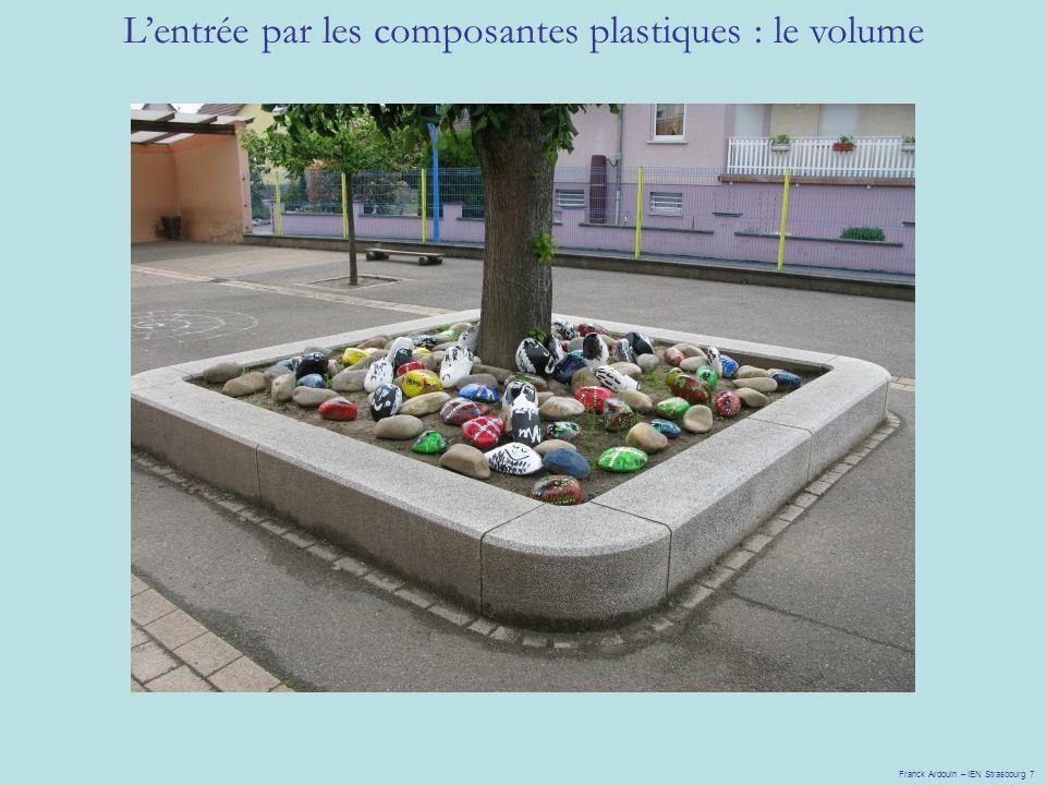 Lentrée par les composantes plastiques : le volume