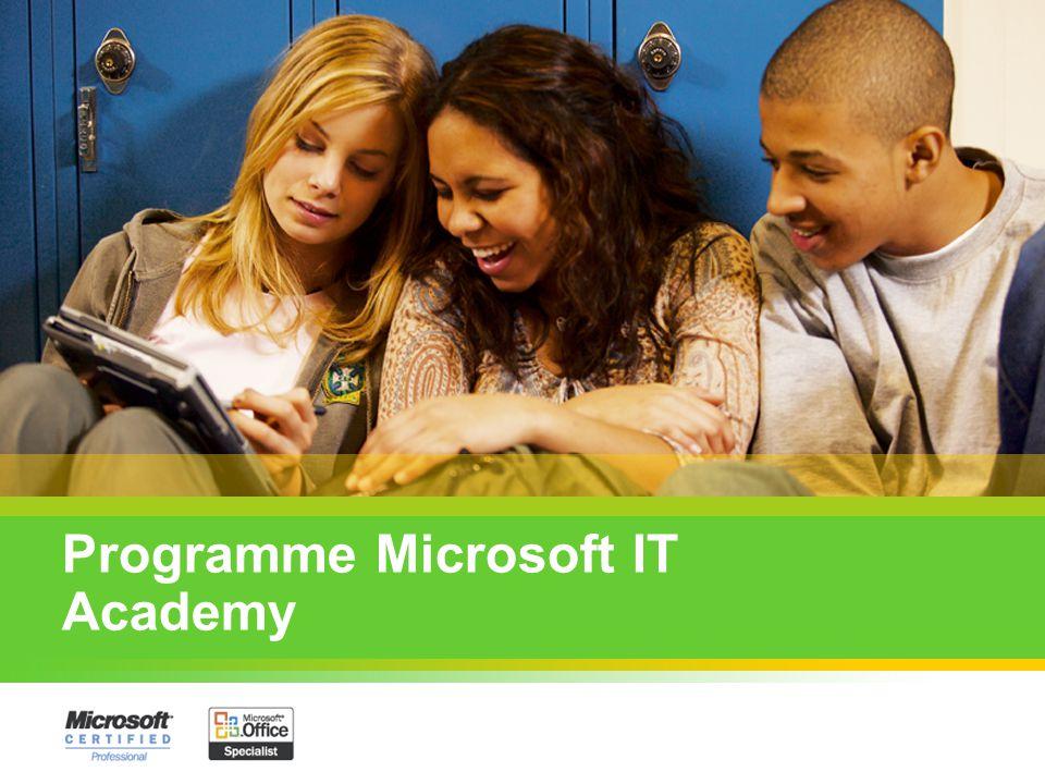 Objectifs du programme : Fournir aux établissements et enseignants des outils pour compléter leurs cours Microsoft dans le domaine de linformatique, quil sagisse de: bureautique, administration de réseaux, développement.