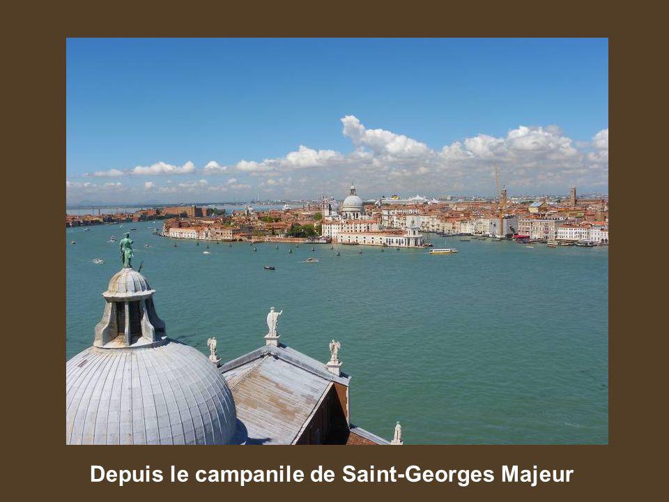 Depuis le campanile de Saint-Georges Majeur