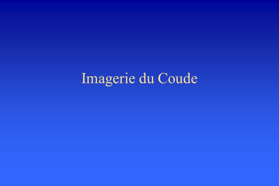 Imagerie du Coude
