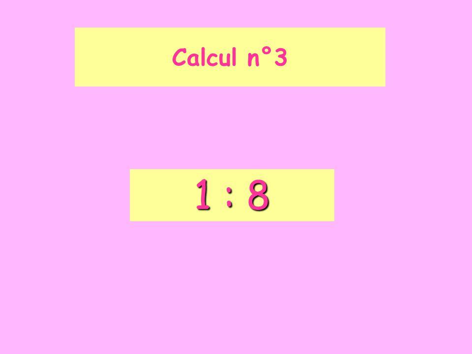 Calcul n°14 D
