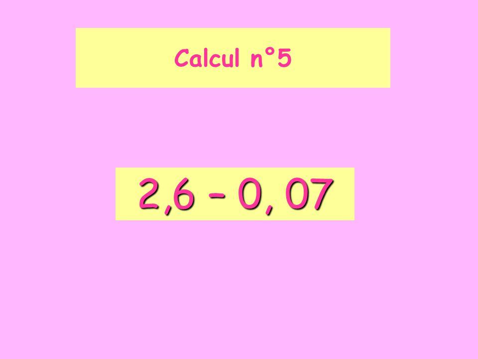 Calcul n°16 Calculer 10 000 + 100 + 1
