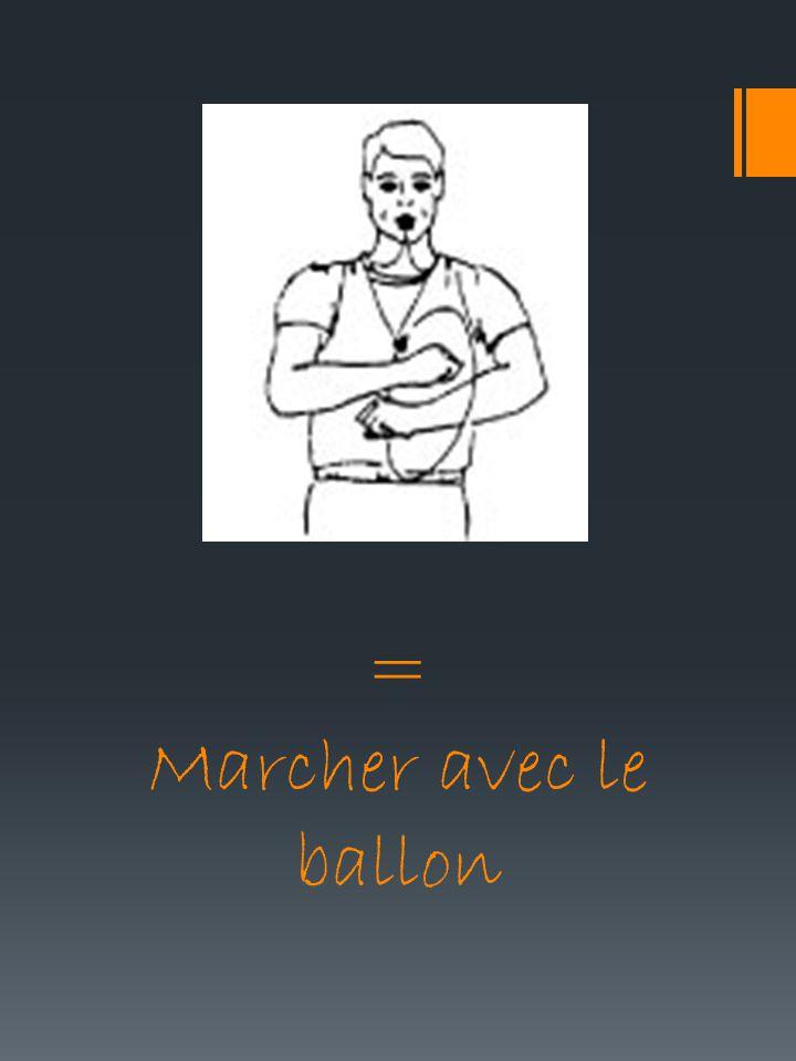 = Marcher avec le ballon
