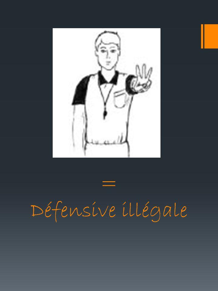 = Défensive illégale