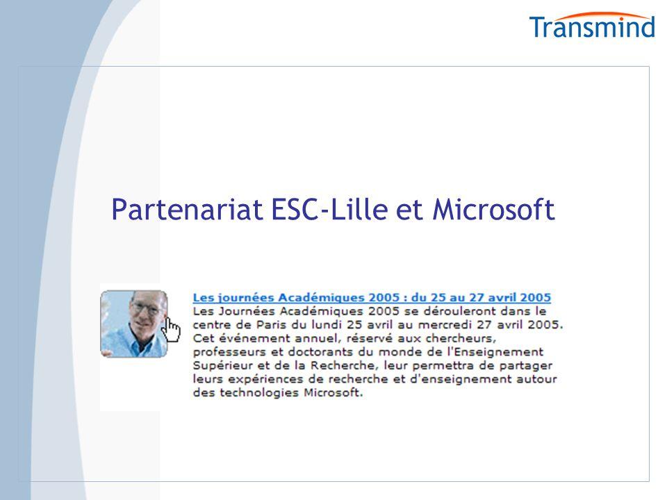 Partenariat ESC-Lille et Microsoft