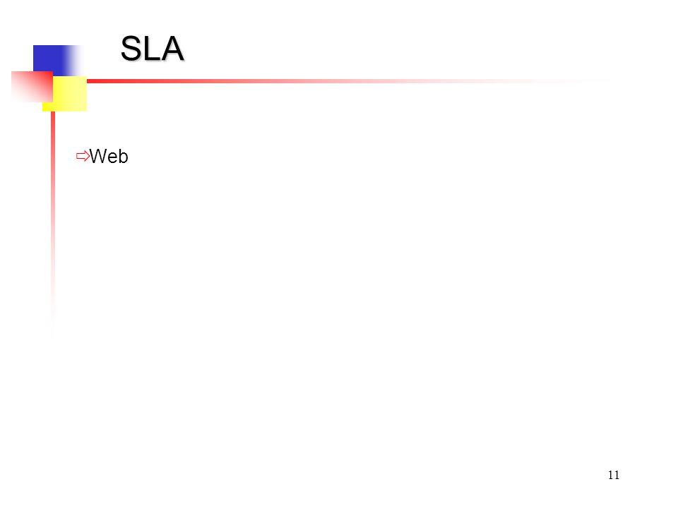 11 SLA Web