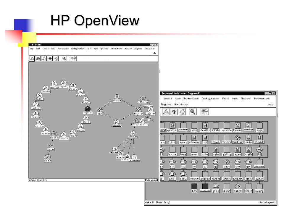 19 HP OpenView