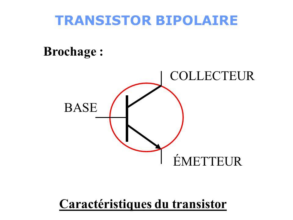 Rb T Vs = 0v Repos: Détection : Vs = 5v Ib Ic est bloquéest saturé Revoyons ça … TRANSISTOR BIPOLAIRE