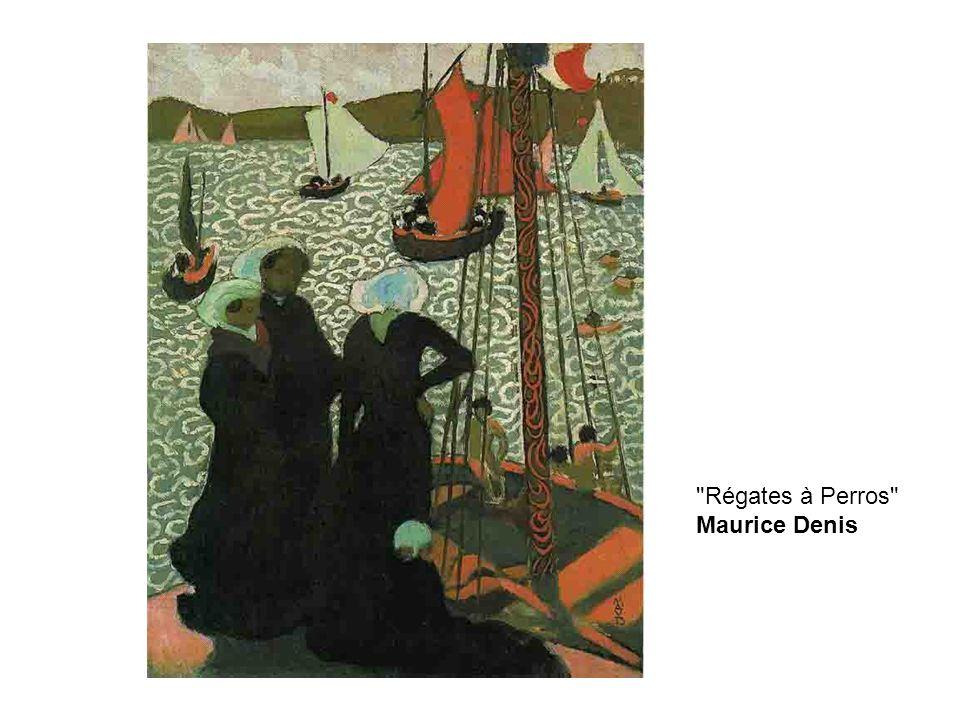 Régates à Perros Maurice Denis