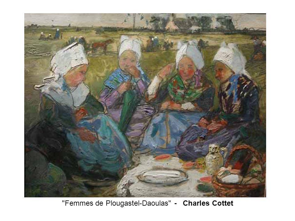 Femmes de Plougastel-Daoulas - Charles Cottet