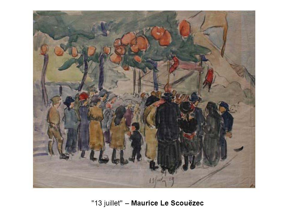 13 juillet – Maurice Le Scouëzec