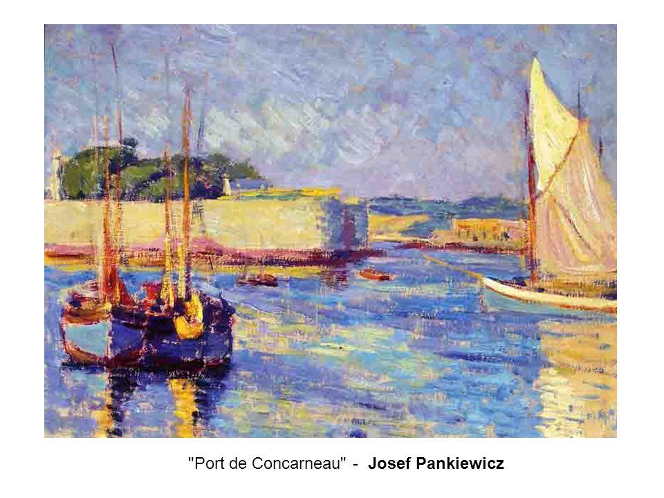 Port de Concarneau - Josef Pankiewicz