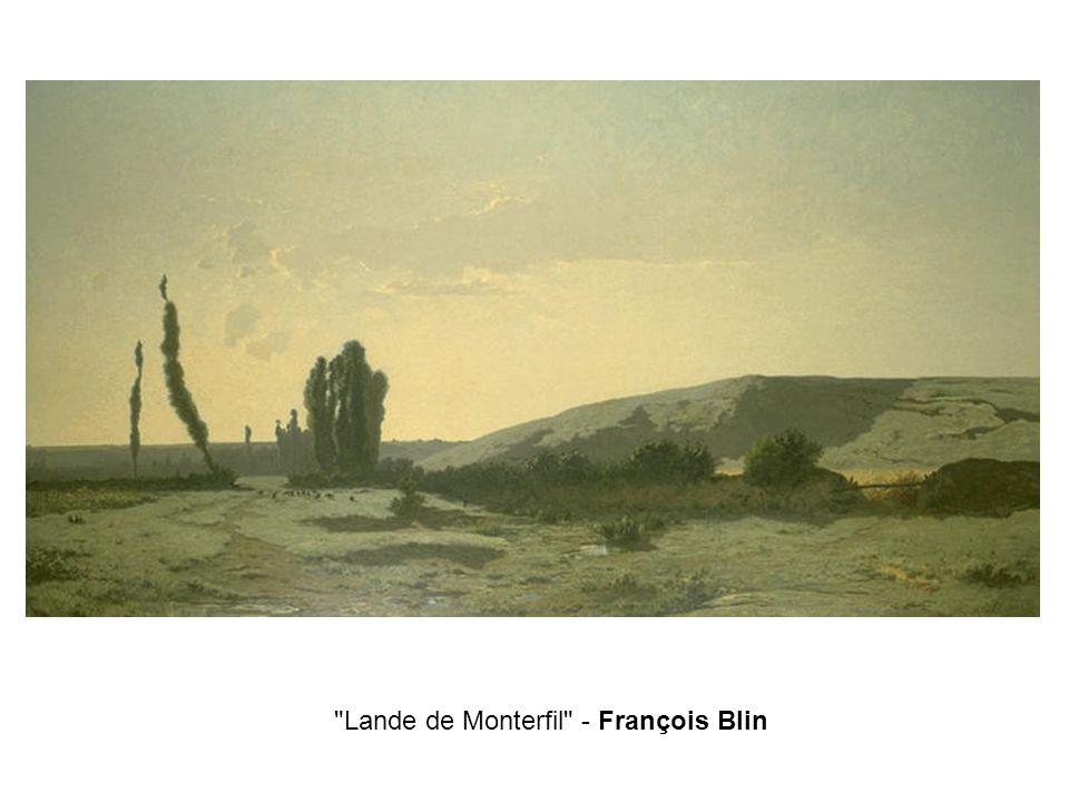 Lande de Monterfil - François Blin