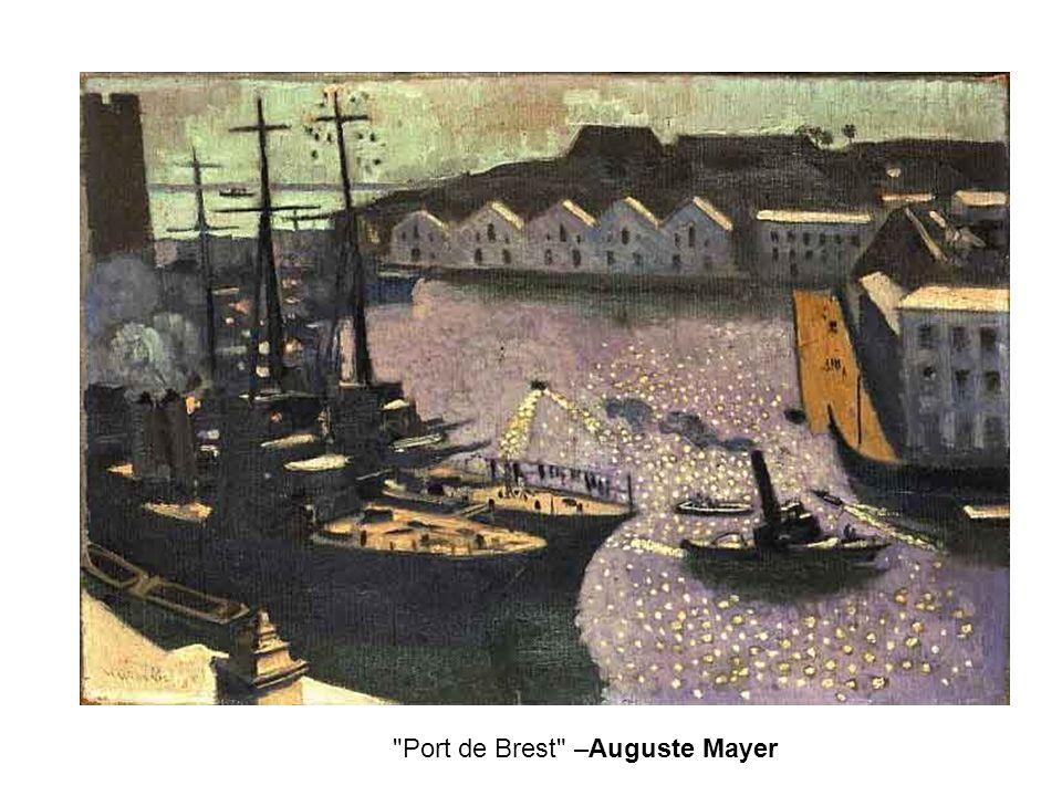 Port de Brest –Auguste Mayer